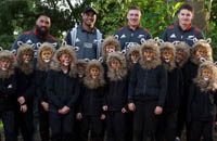 All Blacks meet Lions