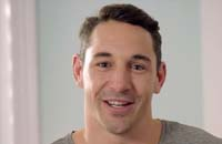 Billy Slater and Barbie promote play